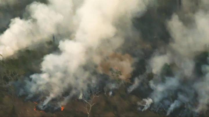 Record number of wildfires scorch Brazil's Amazon rainforest