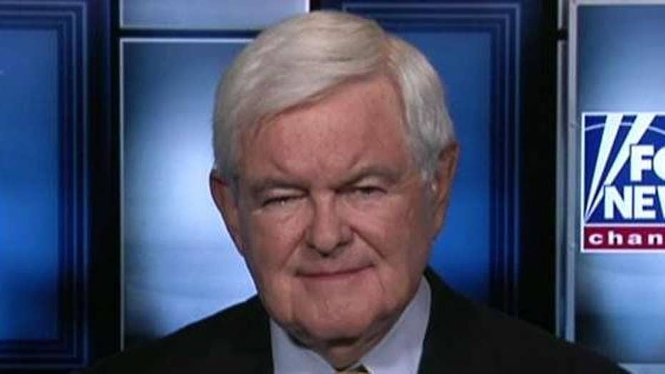 Newt Gingrich addresses uncertainty surrounding payroll tax cut, reacts to Israel feud in DC