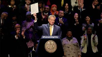 NYC Mayor Bill de Blasio opens up housing lottery to illegal immigrants