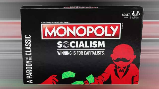 Socialism-themed Monopoly game hits store shelves, divides Internet