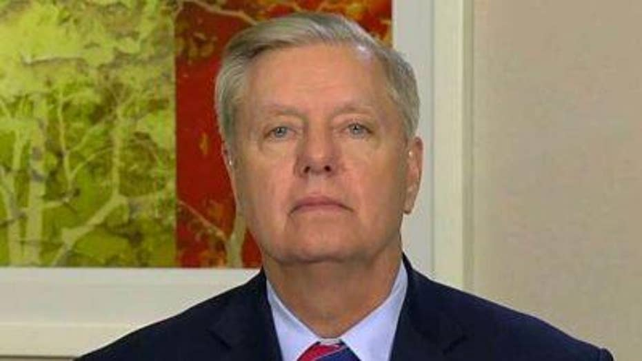 Lindsey Graham on supporting Trump in China trade war