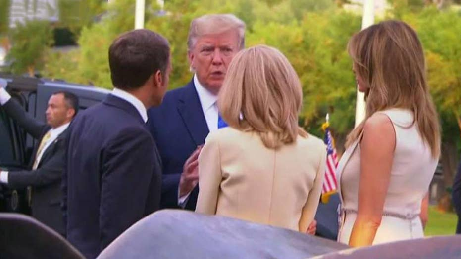 Trump meets world leaders in France for G7 summit