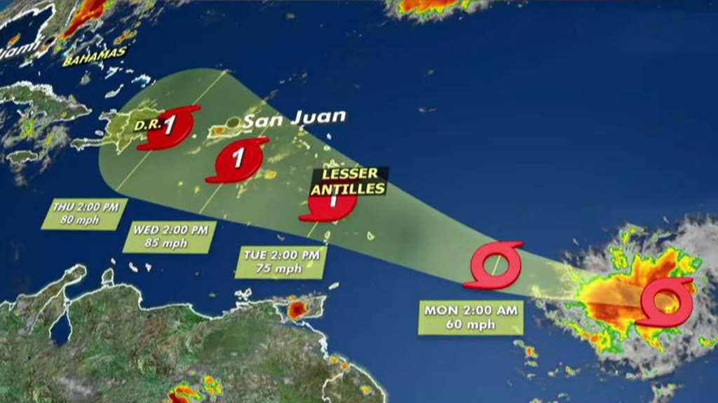 Storm expected to gather hurricane strength, forecasters say