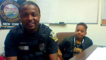 Syracuse police officer is challenging kids to play pick-up basketball to build relationships in his community
