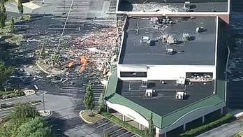 Gas explosion sends shock waves through homes in Maryland, destroying at least one building