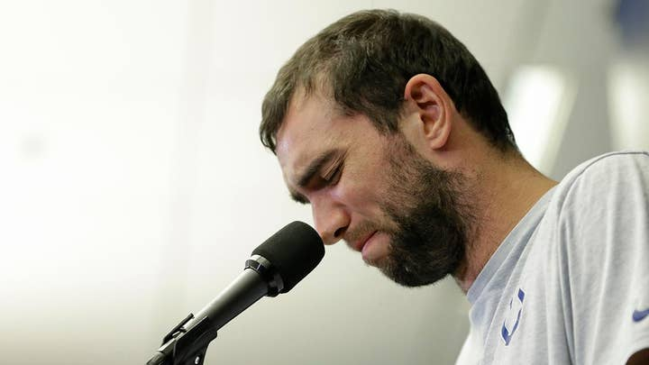 Colts QB Andrew Luck announces retirement from the NFL at the age of 29