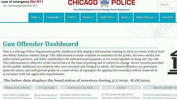Chicago police introduce Gun Offender Dashboard, new online tool to track suspects