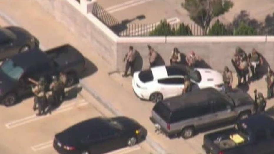 LA sheriff's deputy 'completely fabricated' sniper story, has been fired