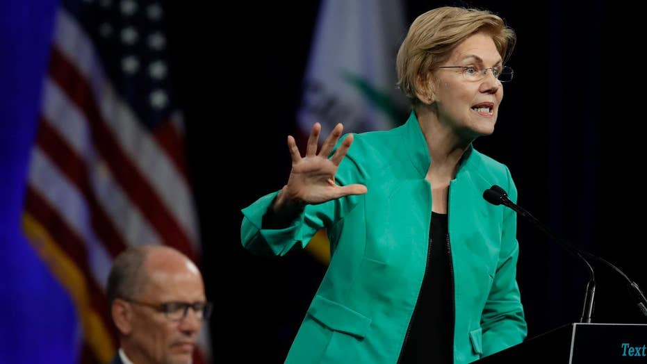 Elizabeth Warren draws crowds as Joe Biden makes gaffes