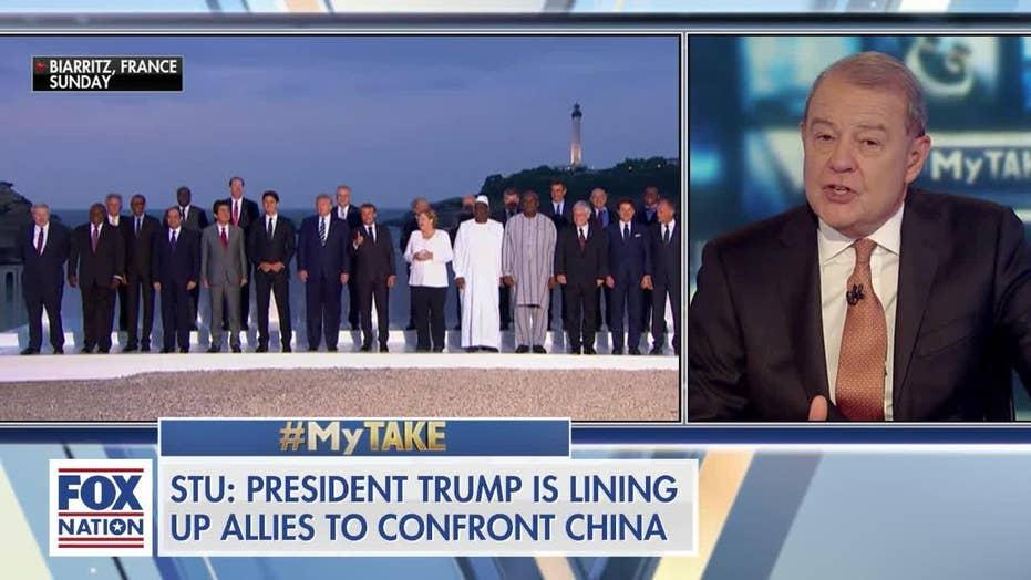 "Stuart Varney on President Trump at the G-7: He ""Dominated"""
