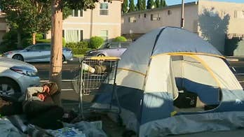 Los Angeles metro area overrun by homelessness