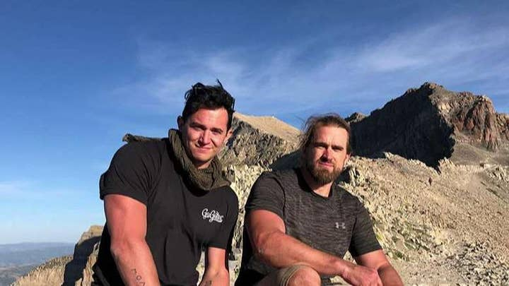 Disabled veteran carried up mountain by fellow Marine in Utah