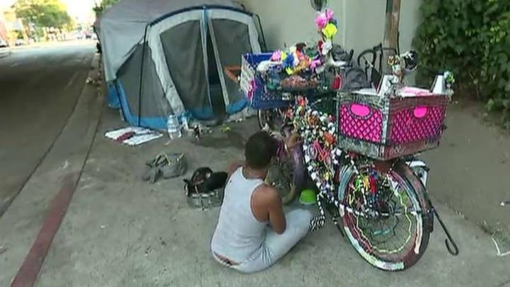 L.A. mayor assures voters progress is being made on homelessness initiatives