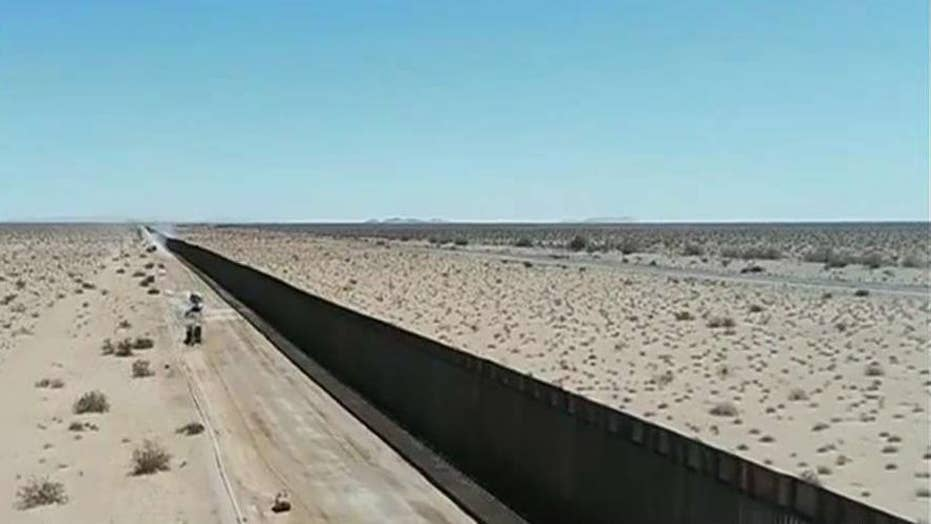 60 miles of new wall built on Arizona border with hundreds more expected by end of 2020