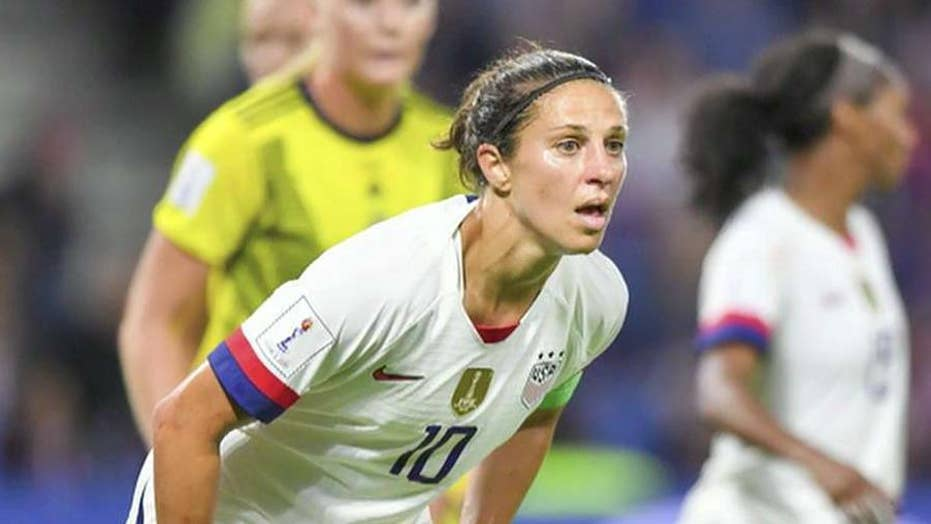 US soccer star Carli Lloyd gets offer to kick in NFL game: report