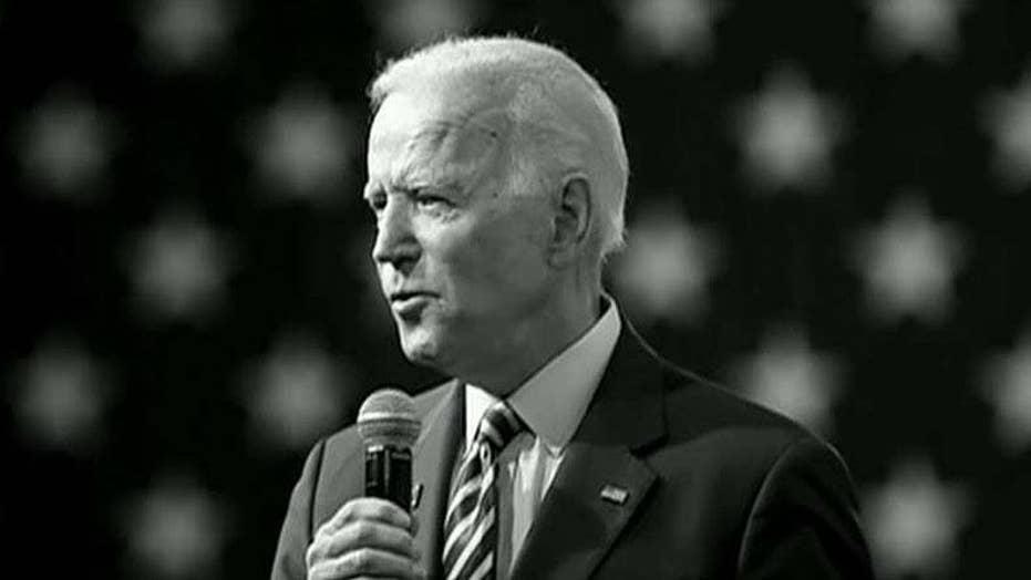 Biden campaign dismisses poll showing three-way tie with Sanders, Warren