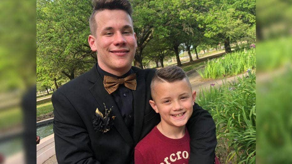 Teens Hilarious Costume Pranks On Little Brother Go Viral  Fox News-5441