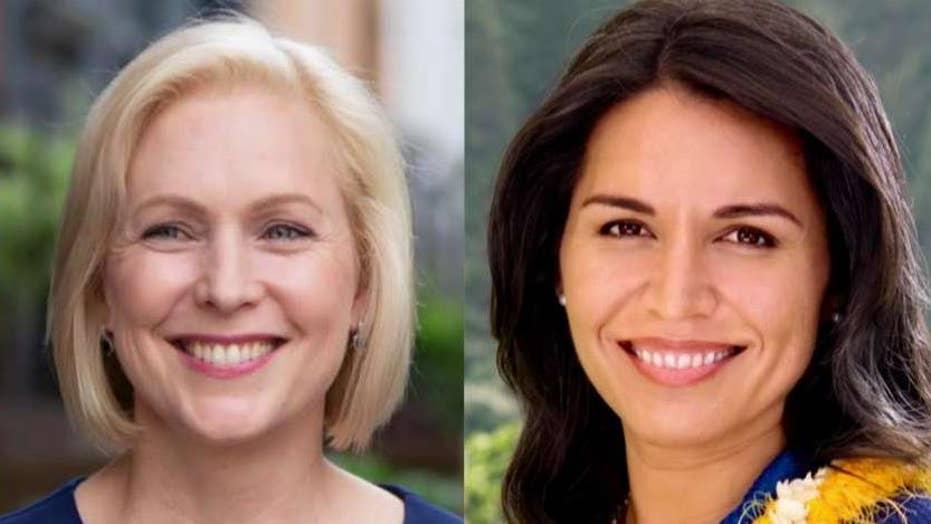 Steyer, Gillibrand, Gabbard and Williamson, missing cut for next Democrat debate
