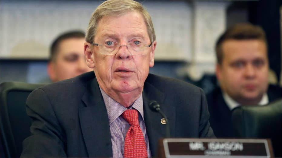 Georgia GOP Sen. Isakson to resign at end of year, amid battle with Parkinson's