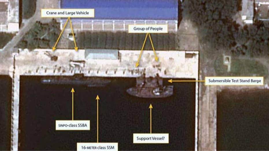 North Korea may be building submarine capable of launching nuclear missiles