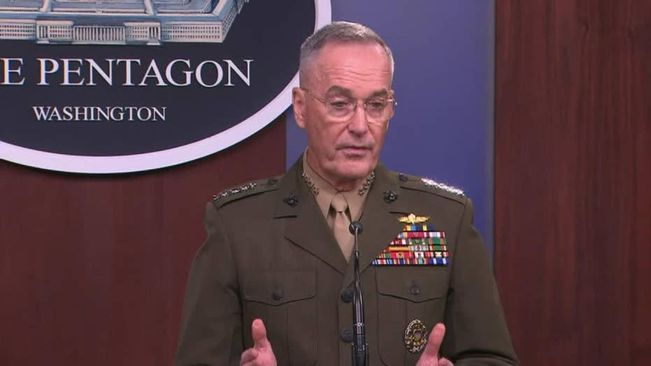 General Dunford: We want peace and stability for Afghan people
