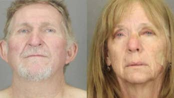 Manhunt for husband-wife murder suspects who escaped transport vehicle
