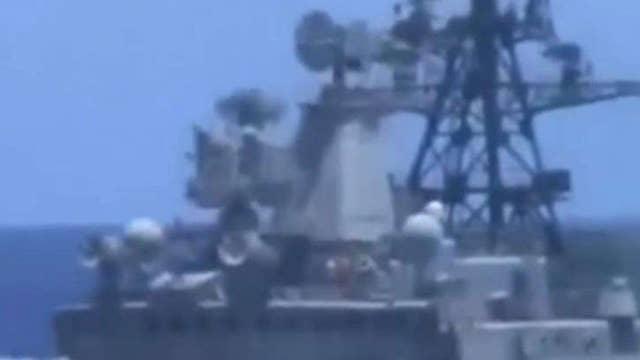 China warns US warship sailing in the South China Sea