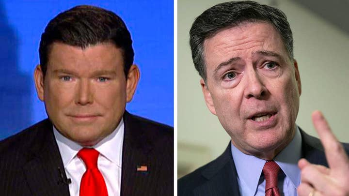 Bret Baier says James Comey 'crowing' about avoiding an indictment is 'a little rich'