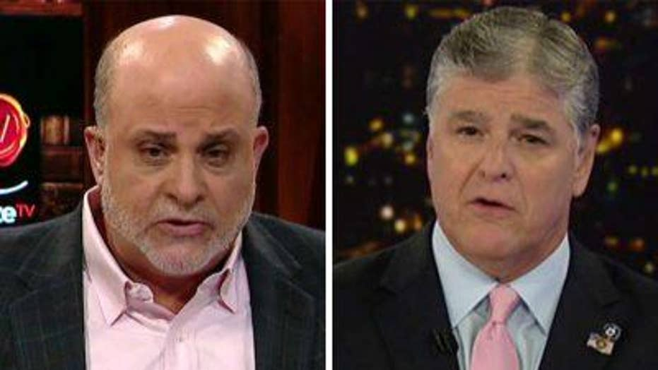 Mark Levin on the 'unpatriotic' press attacking Trump and his supporters
