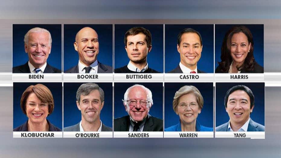 2020 Democrats fume over DNC's criteria crackdown for next debate