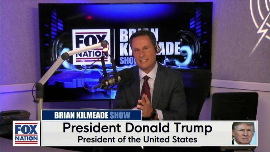 President Donald Trump On The Brian Kilmeade Show