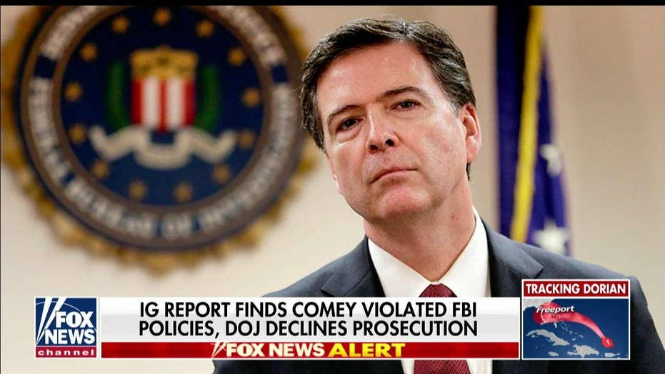James Comey is a 'meathead' and 'political hack,' who damaged the FBI, says Sen. John Kennedy