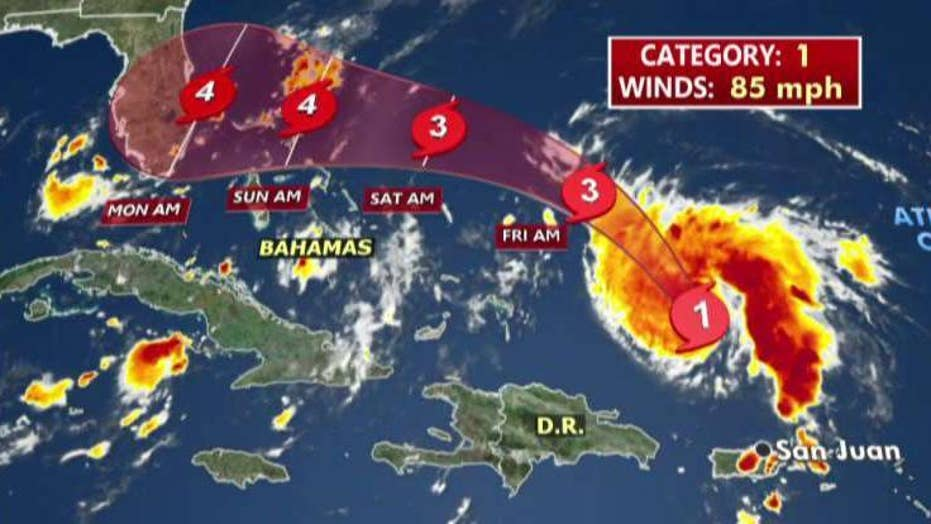 Dorian could hit Florida as Category 4 hurricane