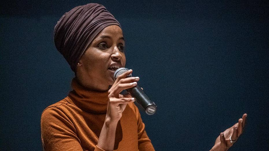 Rep. Ilhan Omar refuses to answer questions about alleged affair