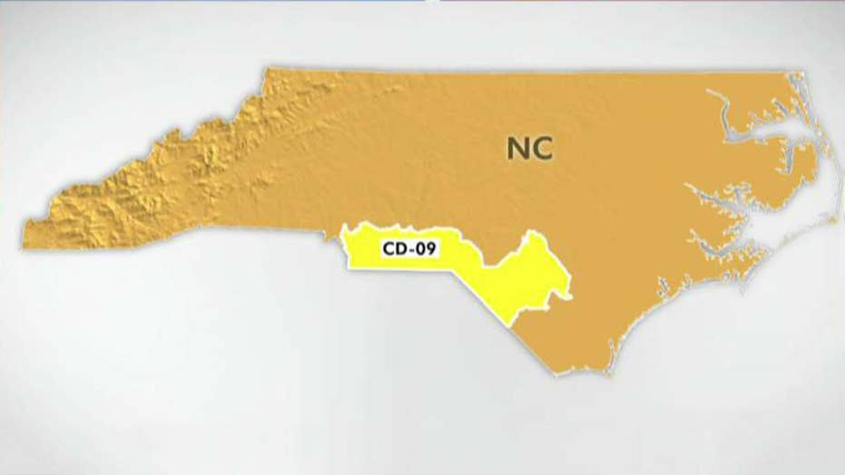 North Carolina special election seen as bellwether battle