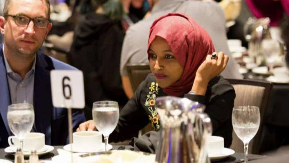 Rep. Ilhan Omar embroiled in divorce drama after woman claims she stole her husband