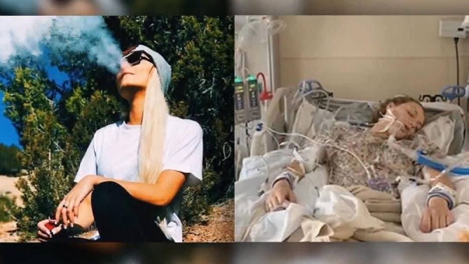 Utah teen says vaping put her in a coma