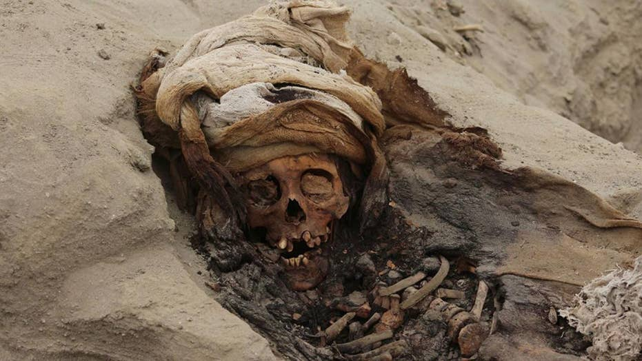 World's largest 'mass child sacrifice' site discovered in Peru