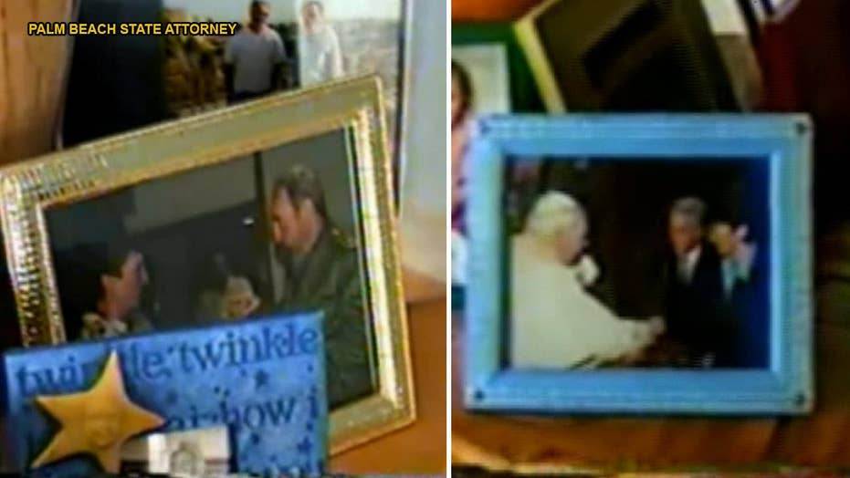 WATCH: World leaders, including Fidel Castro and Pope John Paul II, apparently seen in photos inside Jeffrey Epstein mansion