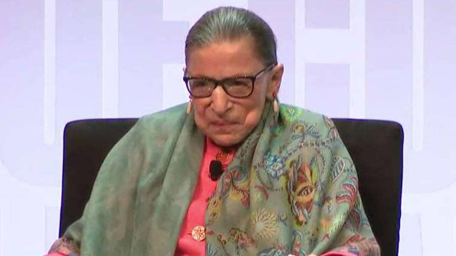 Ruth Bader Ginsburg addresses her health at the Library of Congress National Book Festival