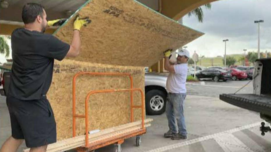 Coastal Florida braces for Hurricane Dorian