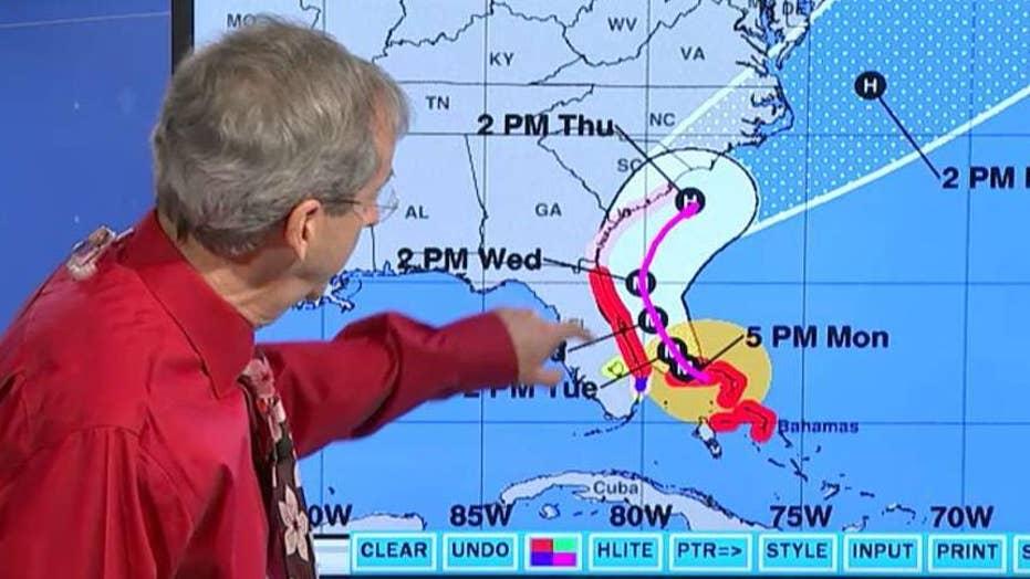 With Hurricane Dorian looming, South Carolina starts