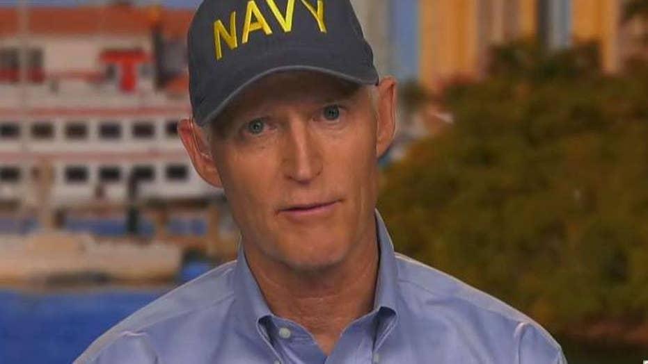 Florida Sen. Rick Scott urges residents to remain vigilant as Hurricane Dorian looms