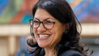 Tlaib vows to display altered American flag with 51 stars in support of DC statehood