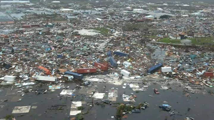 Aerial footage of Abaco Island reveals extent of devastation from Hurricane Dorian