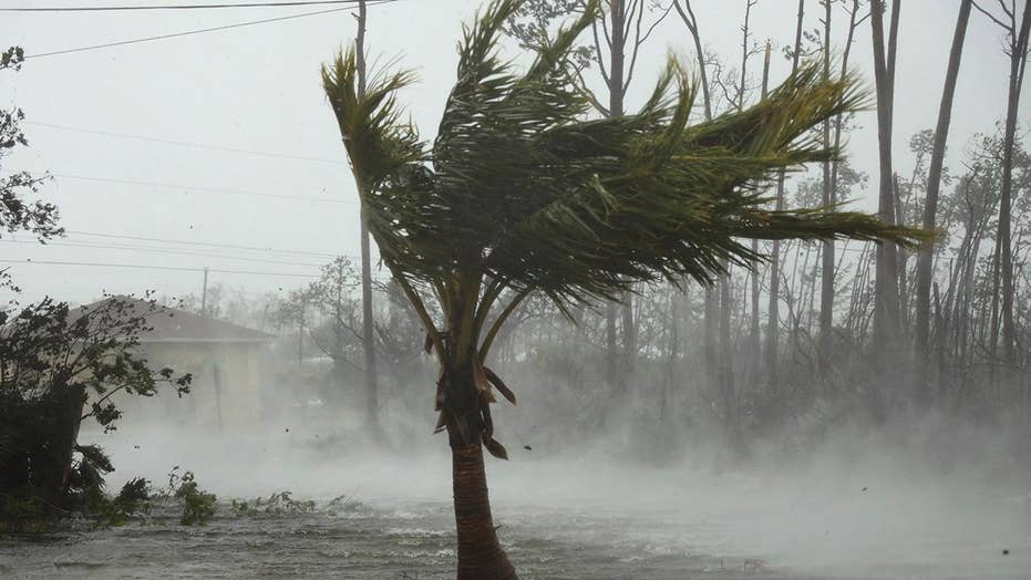Hurricane Dorian batters the Bahamas with record-setting fury