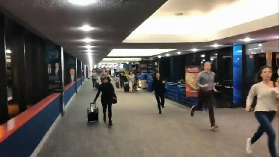 Newark airport passengers panic, evacuate over active shooter scare