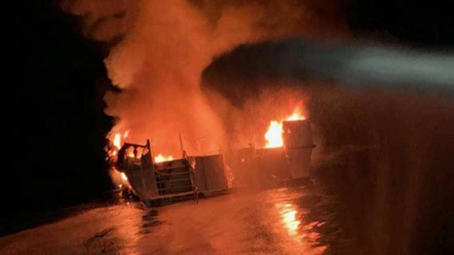 34 people presumed dead in California boat fire, search suspended