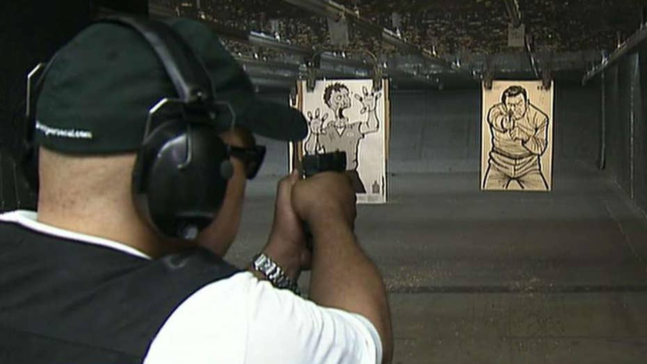 Democratic presidential candidates split over gun control proposals