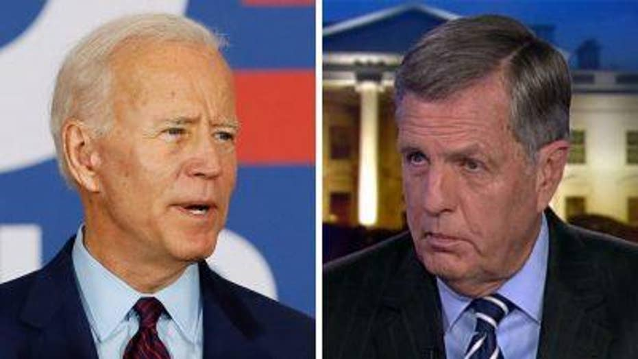 Brit Hume on Joe Biden's presidential aspirations